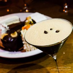 Espresso Martini from Viale Restaurant Bar & Grill in Bridgeport, CT
