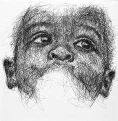 Pencil on canvas  #homnguyen