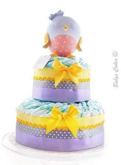 Gateau de couches Florine cake - Babys Cakes boutique