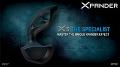 The #Specialist! We proudly presents the #X3! #XPANDER #XPANDEReffect #release #innovative #stimulator