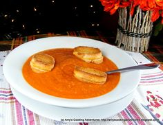 Amy's Cooking Adventures: Hearty Roasted Tomato Soup