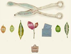 Creative Blog Header Incorporates various objects