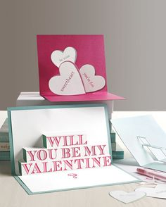 When you really care, you just have to get all up in their faces -- and these pop-up cards pack a (loving) punch.