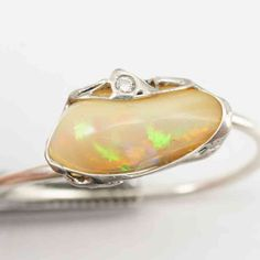 Opal Diamant Ring