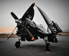 "Nasty little beastie in the air: the Chance Vought F-4U Corsair. Or, as the Japanese called her, ""Whistling Death."""