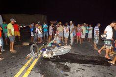 HORA DA VERDADE: URGENTE: Tragédia na BR, batida entre duas motos p...