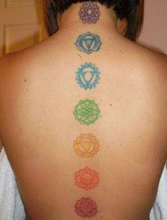 chakra tattoo...like the color