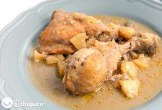 ¿Te gusta la cocina asturiana? Esta receta tiene lo mejor de #Asturias Pollo a la sidra con manzana http://www.recetasderechupete.com/pollo-a-la-sidra-con-manzana/14631/