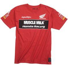 Troy Lee Designs Honda Team Tee T-Shirt Tees ff7d54e09a97