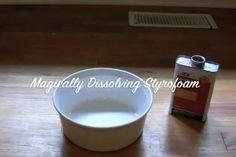 Ασετόν + φελιζόλ = ? Acetone and styrofoam = ?