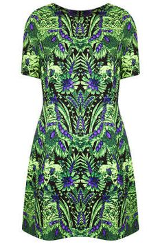 **Digital Jungle Dress by Sister Jane - Dresses  - Clothing