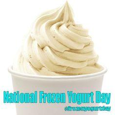 Frozen Yogurt, Icing, Peanut Butter, February, Day, Desserts, Food, Meal, Deserts