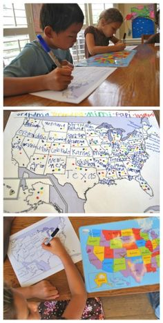 Kids take a poll of their family and friends, and learn geography of the US or… Educational Activities, Learning Resources, Activities For Kids, Learning Tools, Geography For Kids, Geography Lessons, Teaching Kids, Kids Learning, Take A Poll