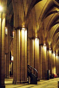 Visit an impressive spiritual place. (York Minster, York, UK. 2008)