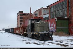 RailPictures.Net Photo: DCON 4 Detroit Connecting Railroad GE 70-ton at Detroit , Michigan by Steve Davey