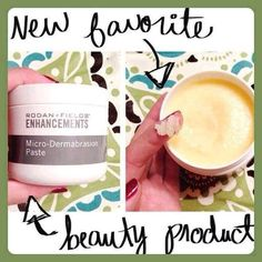 For glowing, smooth skin use Rodan and Fields Microdermabrasion Paste.....  https://annahood.myrandf.com/