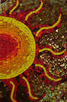 color ~ sunshine mosaic
