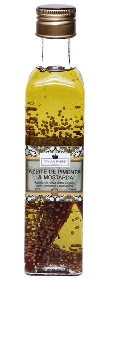 Azeite Aromatizado de Pimenta e Mostarda | Specialitá Bebidas