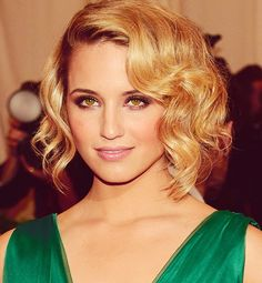 Diana Agron. I adore her hair!