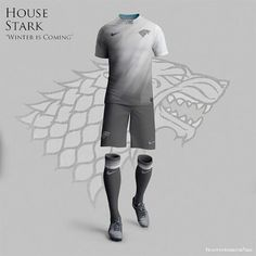 Artista cria uniformes de futebol para as famílias de Game of Thrones - Slideshow - AdoroCinema