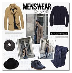 """""""Simple and clear street menswear."""" by tatajrj ❤ liked on Polyvore featuring Industrie, Brooks Brothers, Bickley + MItchell, Ludwig Reiter, men's fashion and menswear"""
