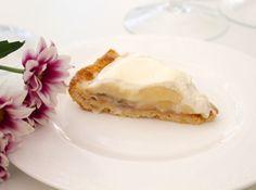 Hämmentäjä: Wonderful banana and vanilla pudding pie. Ihana vaniljainen banaanipiirakka