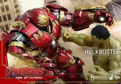Hulkbuster And Hulk Fight - Geek Decor