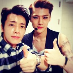 with dong hae hyung