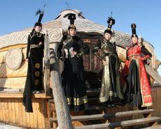The costumes reflect 13th century Mongolian dress. /source: Mongolian Secret History Travel Company/
