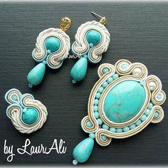 beautiful #acssesories #fashion #love #look #soutache #астана #колье #collection…