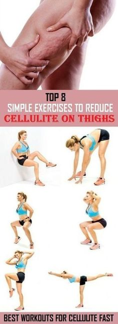 8 Most Effective Exercises to Reduce Cellulite on Thighs