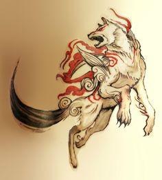 okami tattoo - Pesquisa Google
