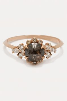 """ClaireKinder - """"Briar Rose Ring Ooak Pepper Diamond"""", $4,500, available at Claire Kinder."""