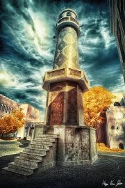 Gabor Kovacs Infrared Gallery Infrared Photography, Surrealism Photography, Photography Gallery, Statue Of Liberty, Castle, Building, Travel, Statue Of Liberty Facts, Viajes
