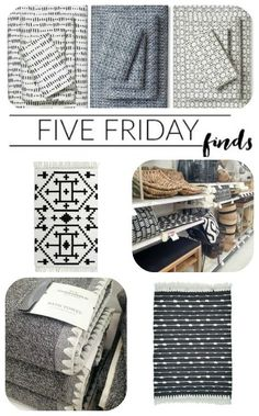 Five Friday Finds: Stylish and affordable decor finds from Target!