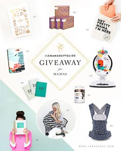 Top Ten Gifts for Moms + HUGE Giveaway