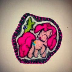 #brooch #mlp #pinkiepie #mlpproject
