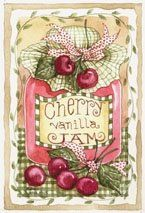 Cherry Jam image painted and copyrighted by Diane Knott