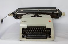 A Vintage Retro Olympia Typewriter, good condition.Desk addition, collectable, stationary by Route46Vintage on Etsy