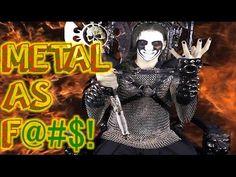 Veganism Is Metal As F@#$!   Vegan Black Metal Chef - YouTube
