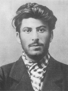 Joseph Stalin at age 24. Surprisingly handsome! Too bad he turned out to be a ruthless dictator.