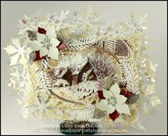 spellbinder's Resplendent Rectangle die   Ink, Thread and Paper: Warm Winter Wishes..aka Tilda 's Frosty Holiday ...