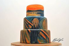 cake design Maria Aristidou edward munch