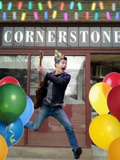 LIVE IMAGES FROM CORNERSTONE - HAPPY BDAY ALEX