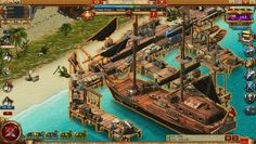 Pirates [Tides of Fortune] is a nautical-themed Free to play Real Time Strategy [RTS] MMO Game