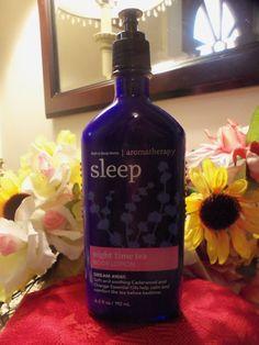 NWT Bath & Body Aromatherapy Sleep Night Time Tea Lotion 6.5 oz. #BathBodyWorks