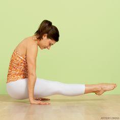 Utpluti Dandasana (Floating Stick Pose). Play with 5 Dandasana variations: http://www.yogajournal.com/practice/2884