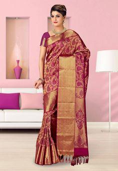 Kanchipuram #SilkSaree