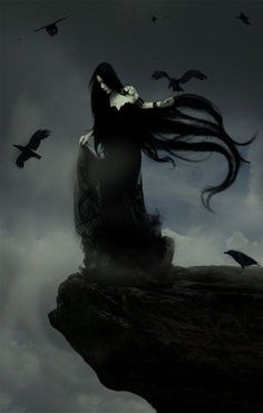 61 Ideas dark art fantasy gothic for 2019 Dark Fantasy Art, Dark Gothic Art, Fantasy Kunst, Fantasy Hair, Gothic Artwork, Dark Artwork, Vampires, Creation Image, Image Blog