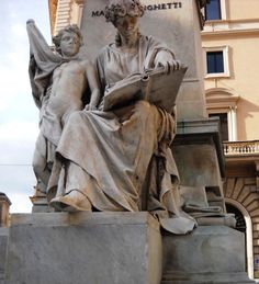 Sochy na pomníku - Řím - Itálie